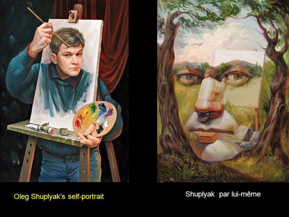 Oleg Shuplyak's self-portrait