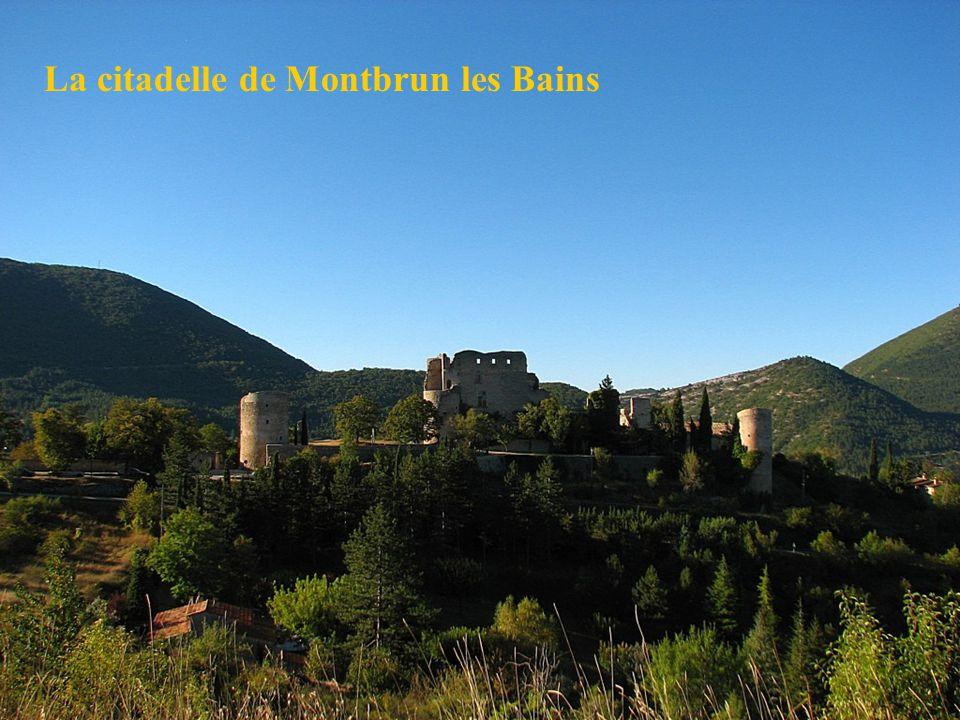 La citadelle de Montbrun les Bains