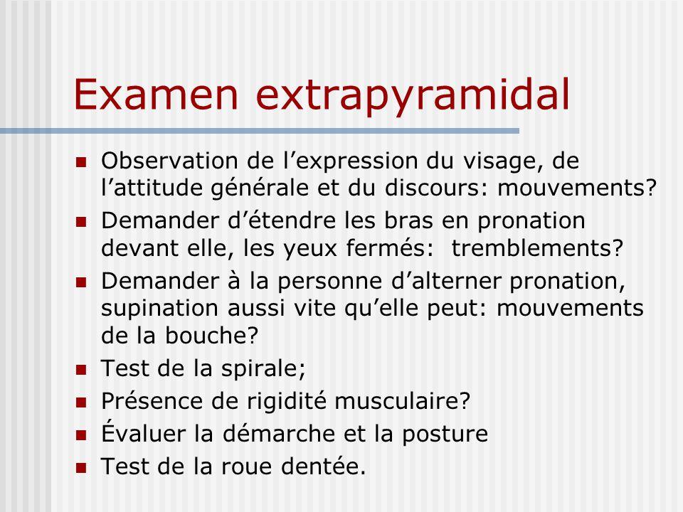 Examen extrapyramidal