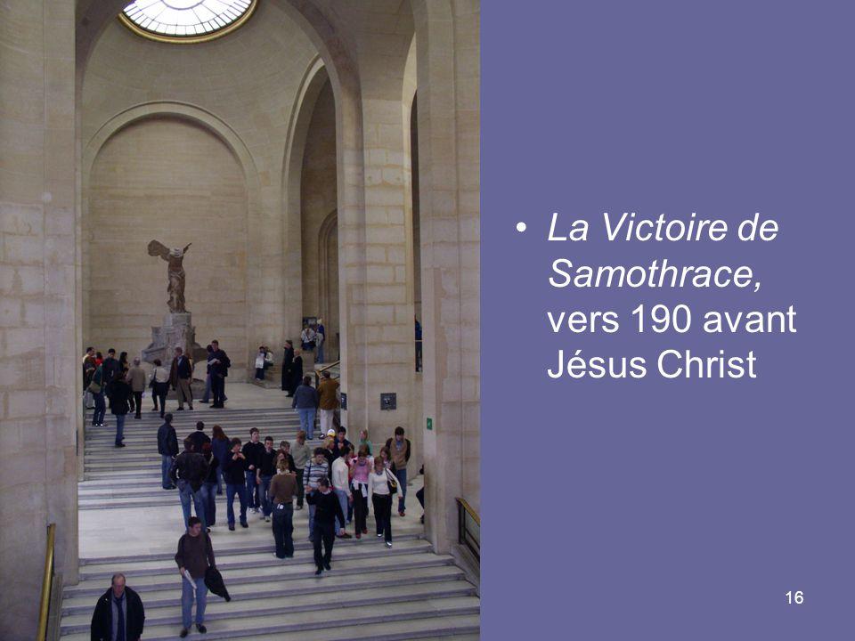 La Victoire de Samothrace, vers 190 avant Jésus Christ