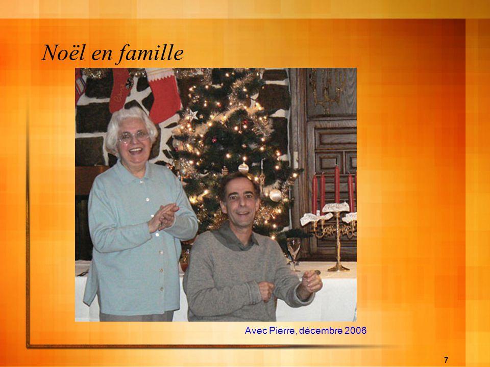 Noël en famille Avec Pierre, décembre 2006