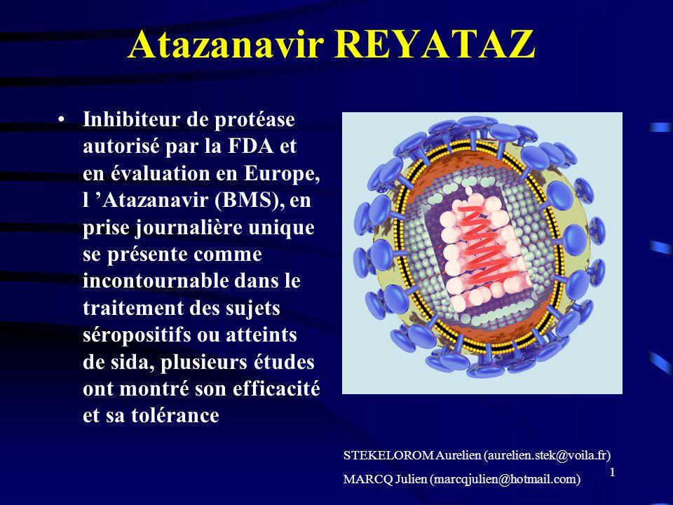 Atazanavir REYATAZ