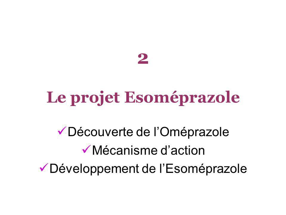 2 Le projet Esoméprazole