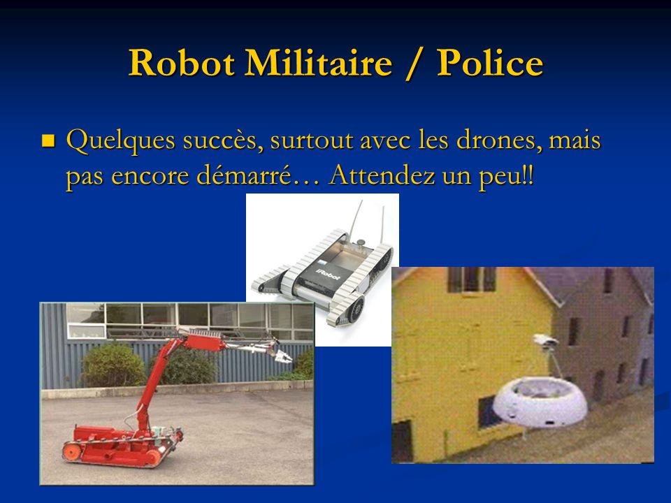 Robot Militaire / Police