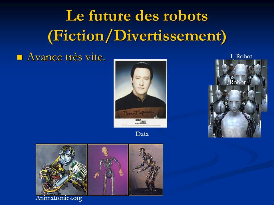 Le future des robots (Fiction/Divertissement)