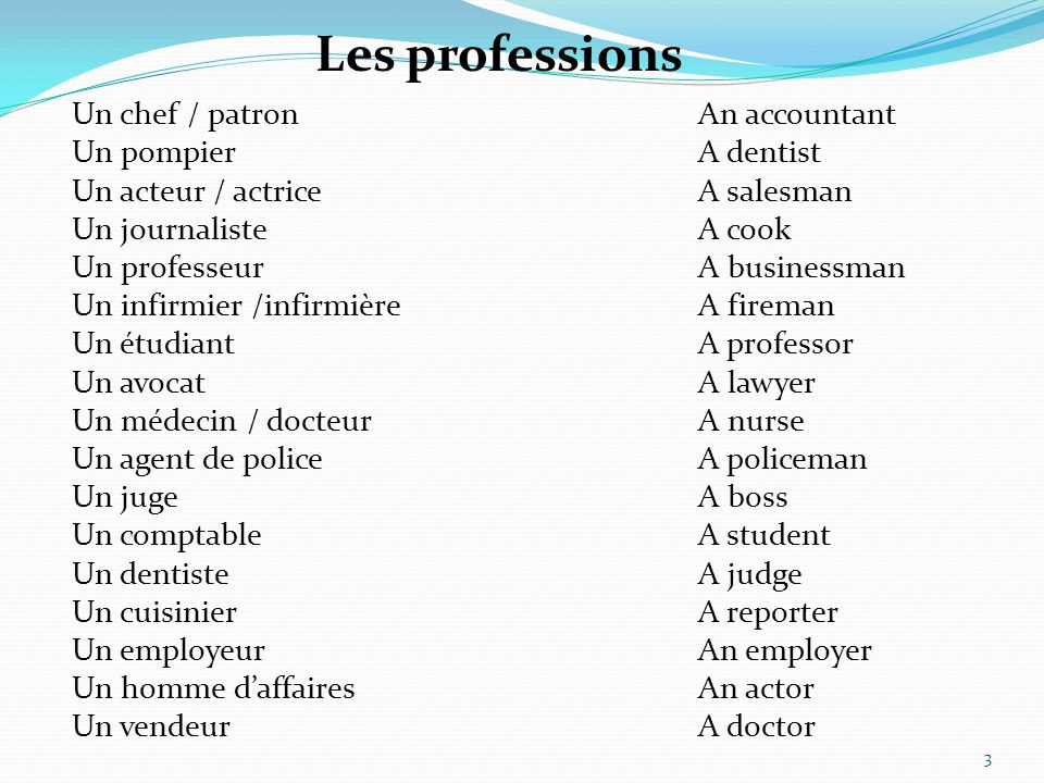 Unscramble the following professions: