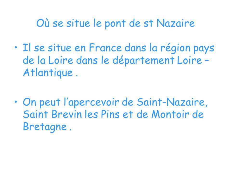Où se situe le pont de st Nazaire