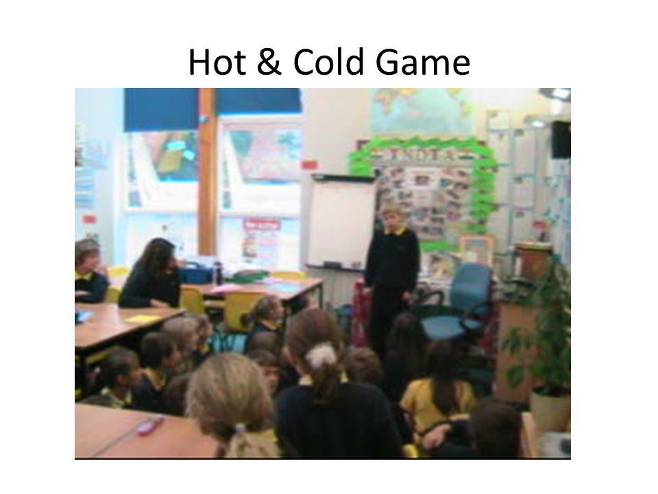 Hot & Cold Game