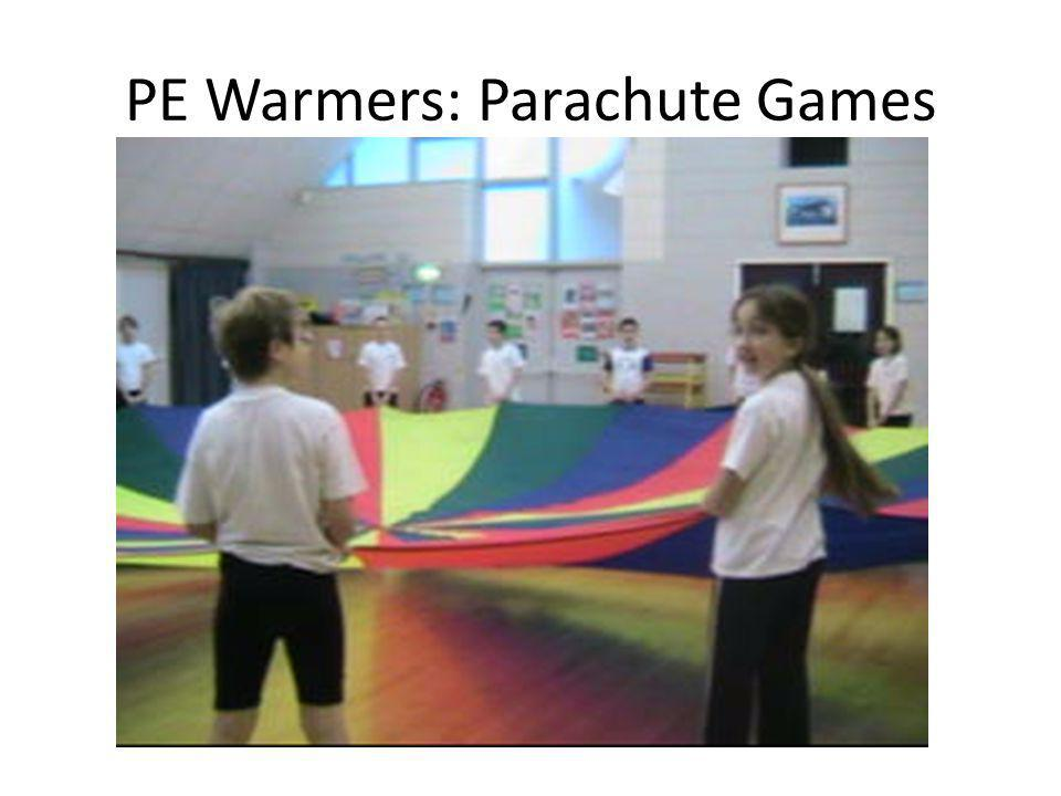 PE Warmers: Parachute Games