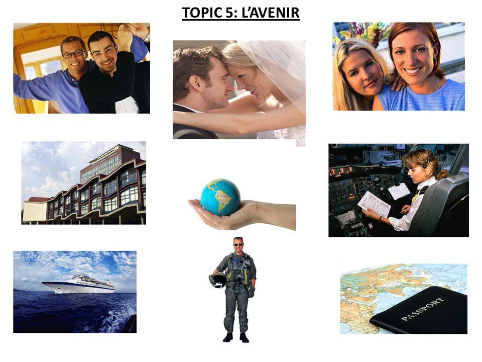 TOPIC 5: L'AVENIR