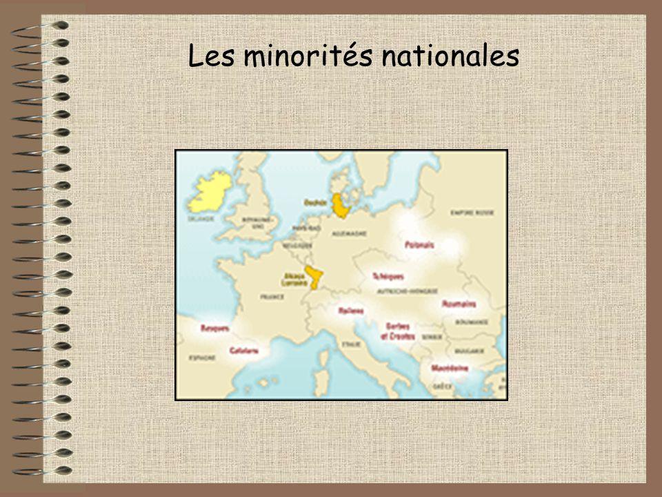 Les minorités nationales