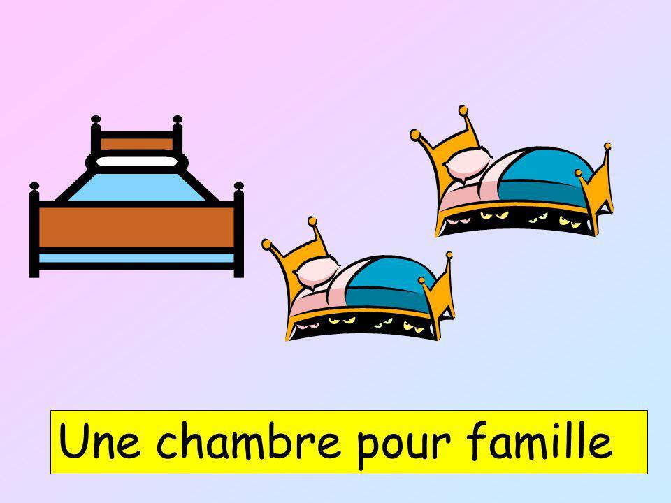 Une chambre pour famille