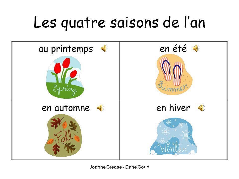 Les quatre saisons de l'an
