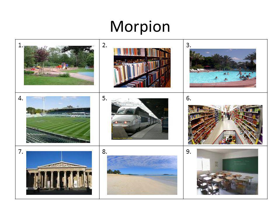 Morpion 1. 2. 3. 4. 5. 6. 7. 8. 9.