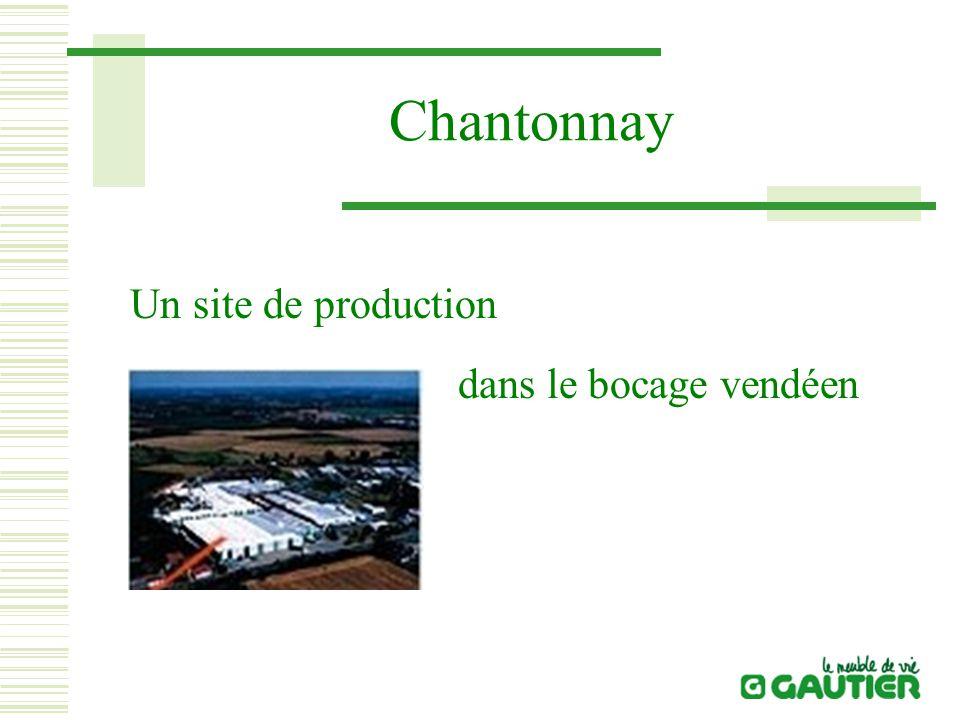 Chantonnay Un site de production dans le bocage vendéen