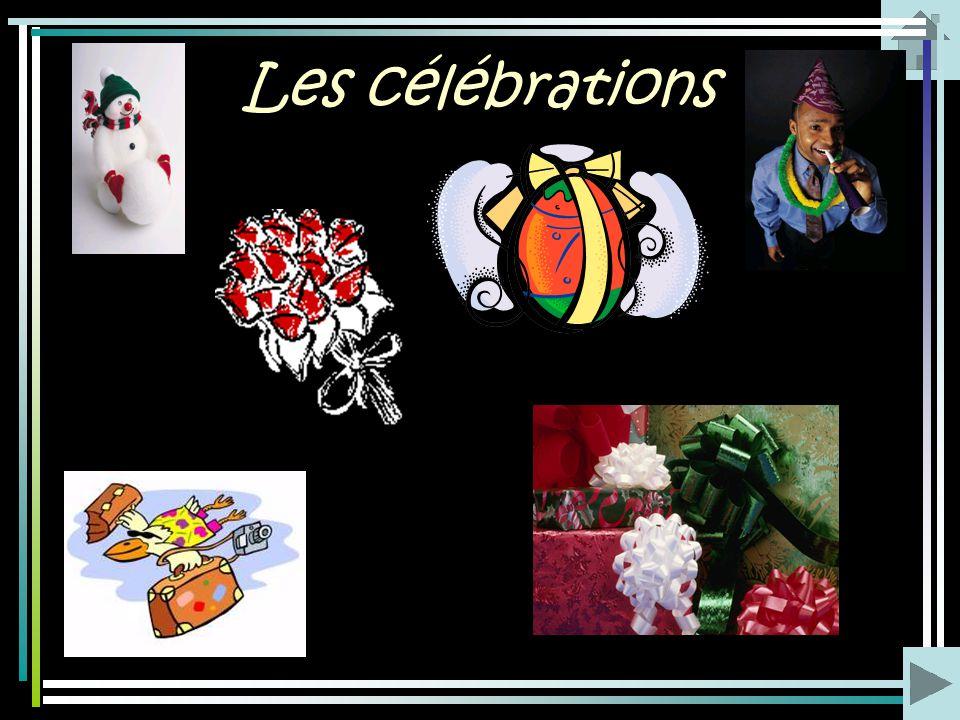 Les célébrations