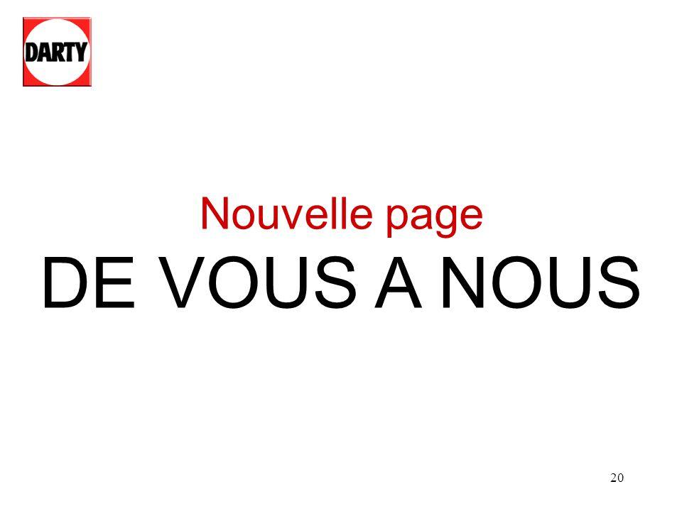 Nouvelle page DE VOUS A NOUS