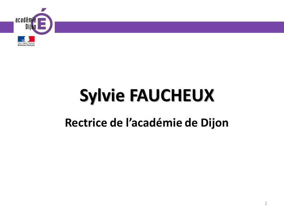 Rectrice de l'académie de Dijon