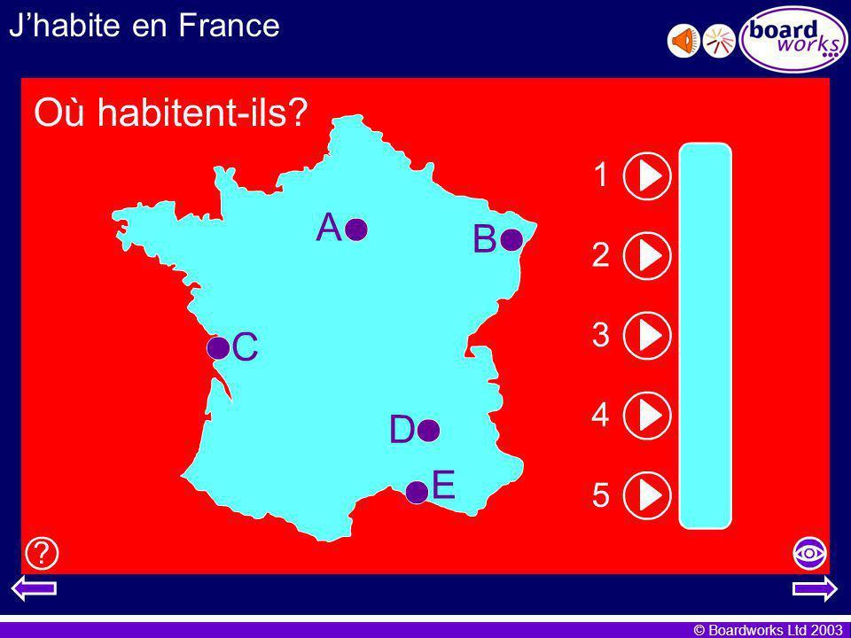 J'habite en France Transcript: