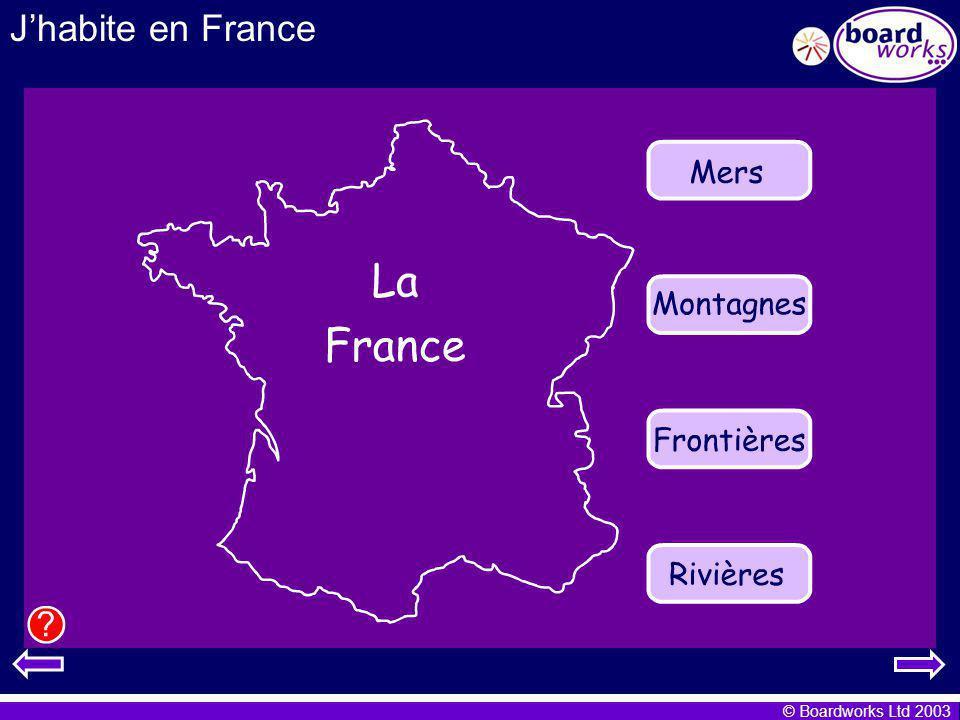 J'habite en France