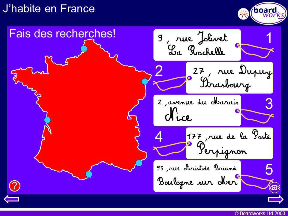 J'habite en France A good site for researching towns and cities in France is: http://www.rando.net/cartes/france/2frame.htm,