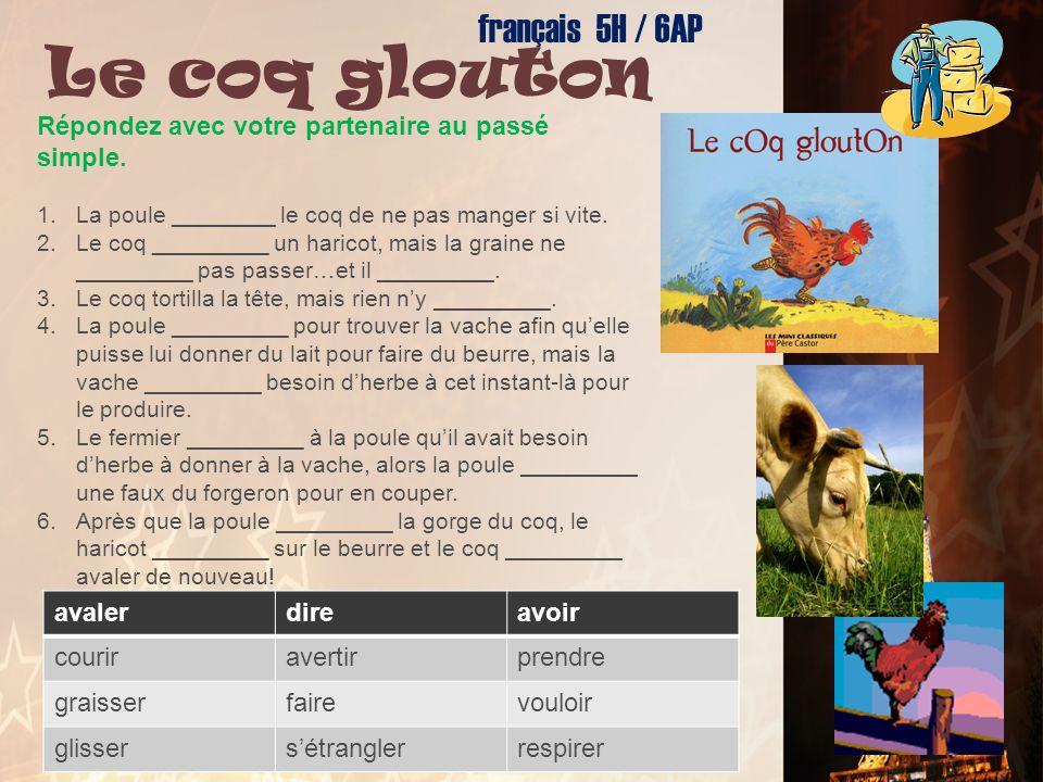 Le coq glouton français 5H / 6AP