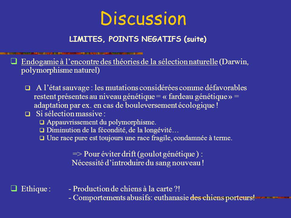 LIMITES, POINTS NEGATIFS (suite)
