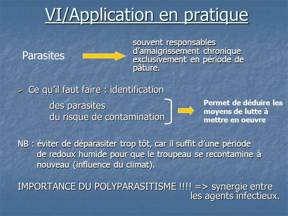 VI/Application en pratique