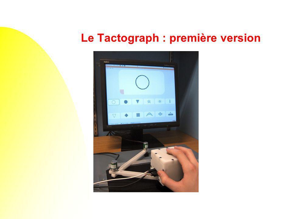 Le Tactograph : première version