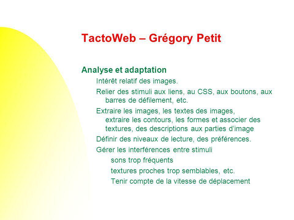 TactoWeb – Grégory Petit
