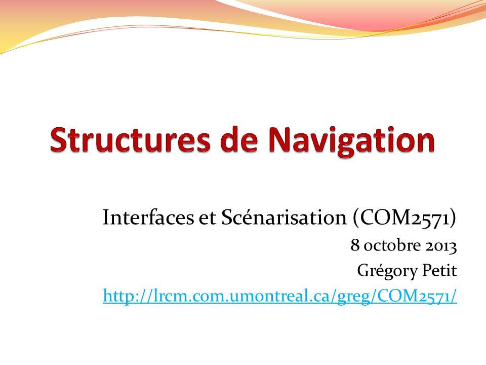 Structures de Navigation