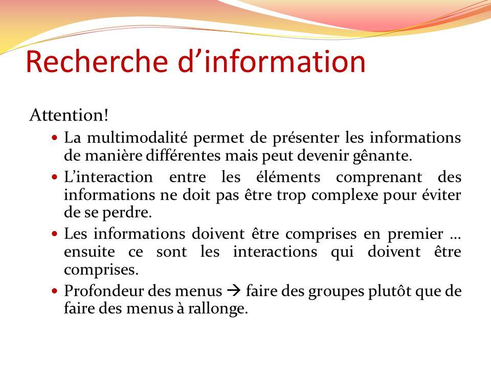 Recherche d'information
