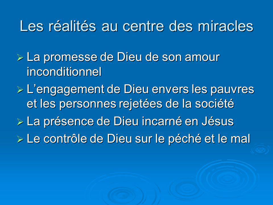 Les réalités au centre des miracles