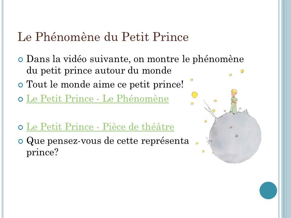 Le Phénomène du Petit Prince