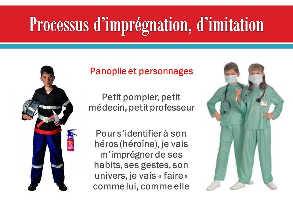 Processus d'imprégnation, d'imitation