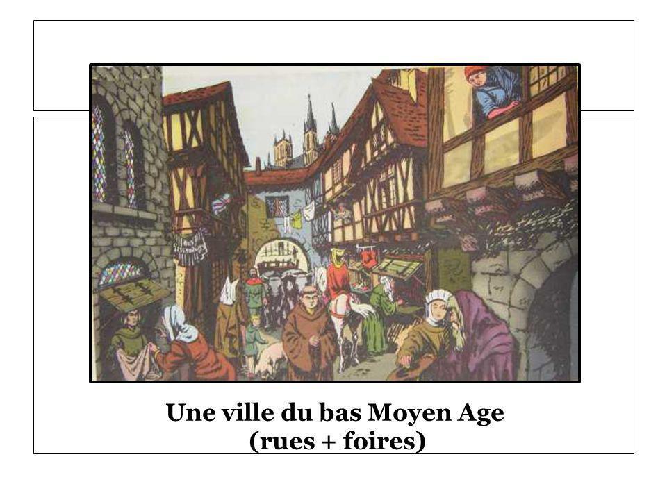 Une ville du bas Moyen Age