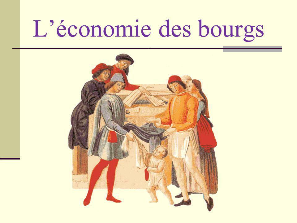L'économie des bourgs