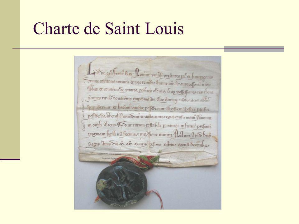 Charte de Saint Louis