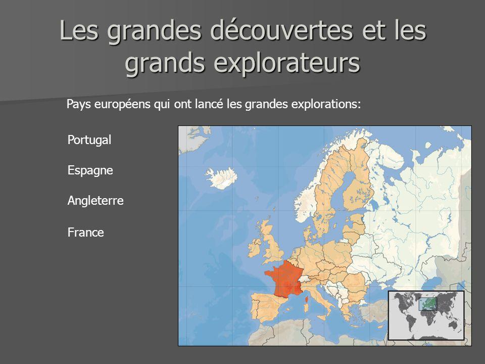 Les grandes découvertes et les grands explorateurs