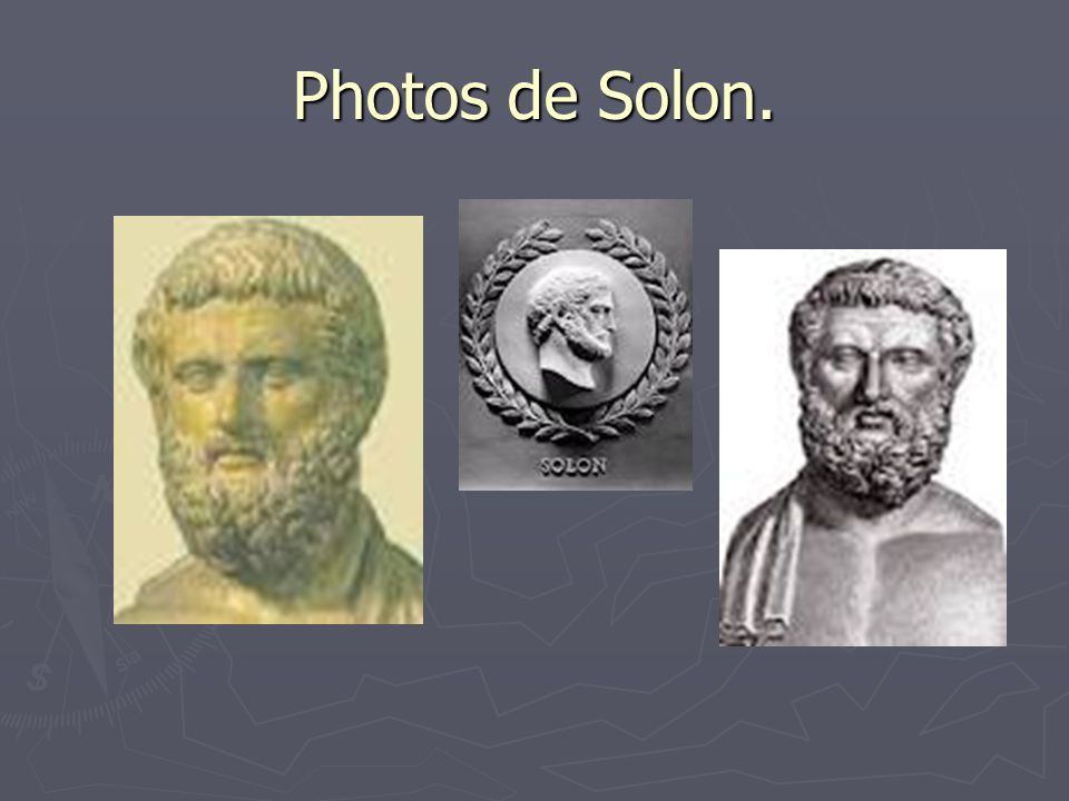 Photos de Solon.