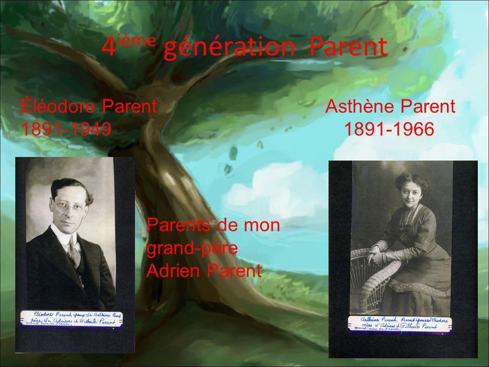 4ième génération Parent