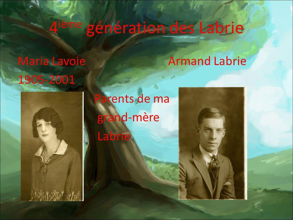 4ième génération des Labrie