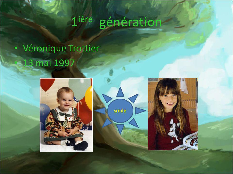 1ière génération Véronique Trottier 13 mai 1997 smile