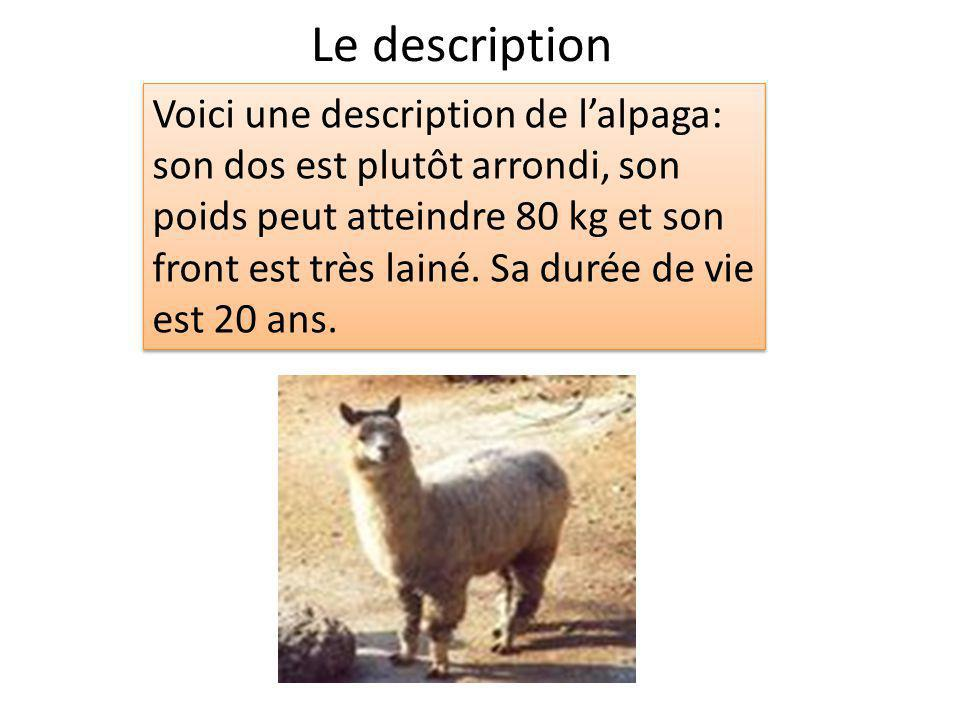 Le description