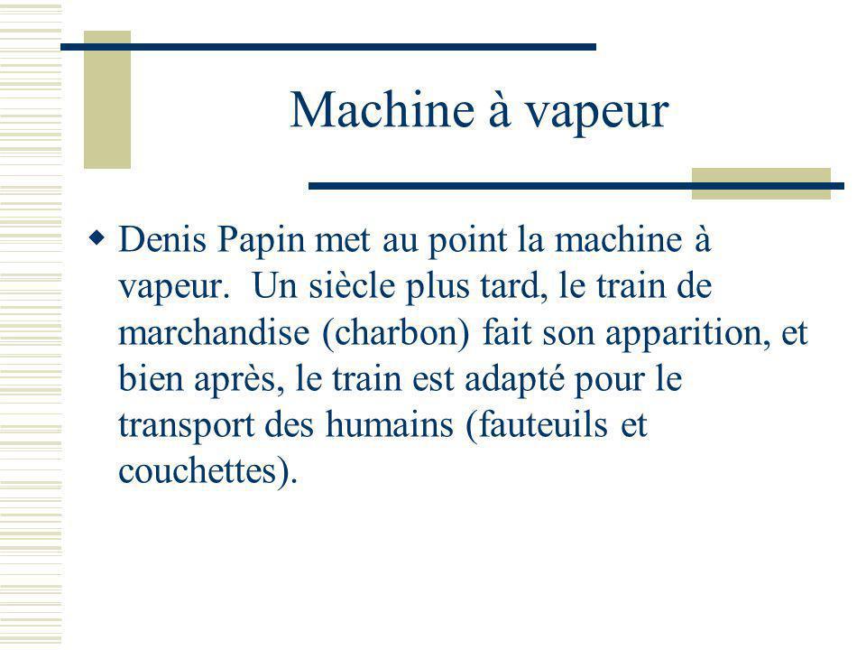 Machine à vapeur