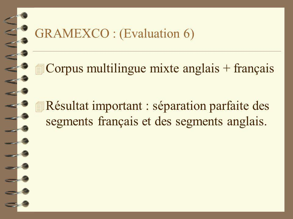 GRAMEXCO : (Evaluation 6)