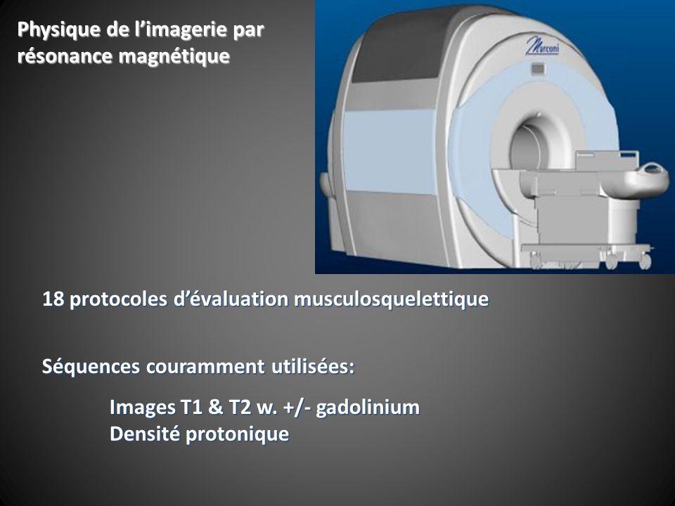 Physique de l'imagerie par résonance magnétique