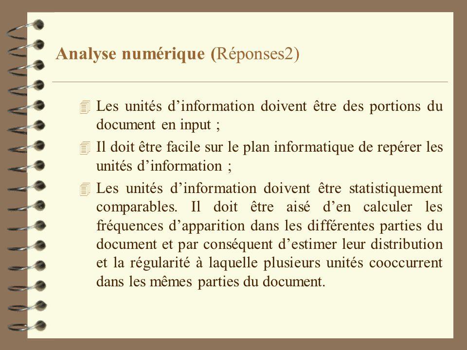Analyse numérique (Réponses2)