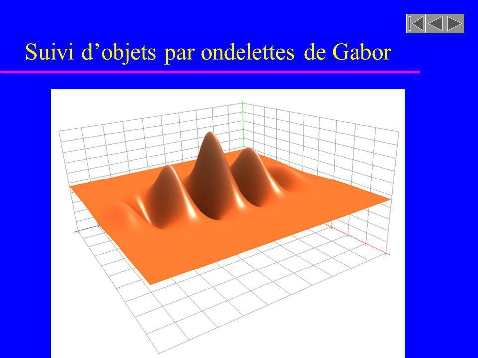 Suivi d'objets par ondelettes de Gabor