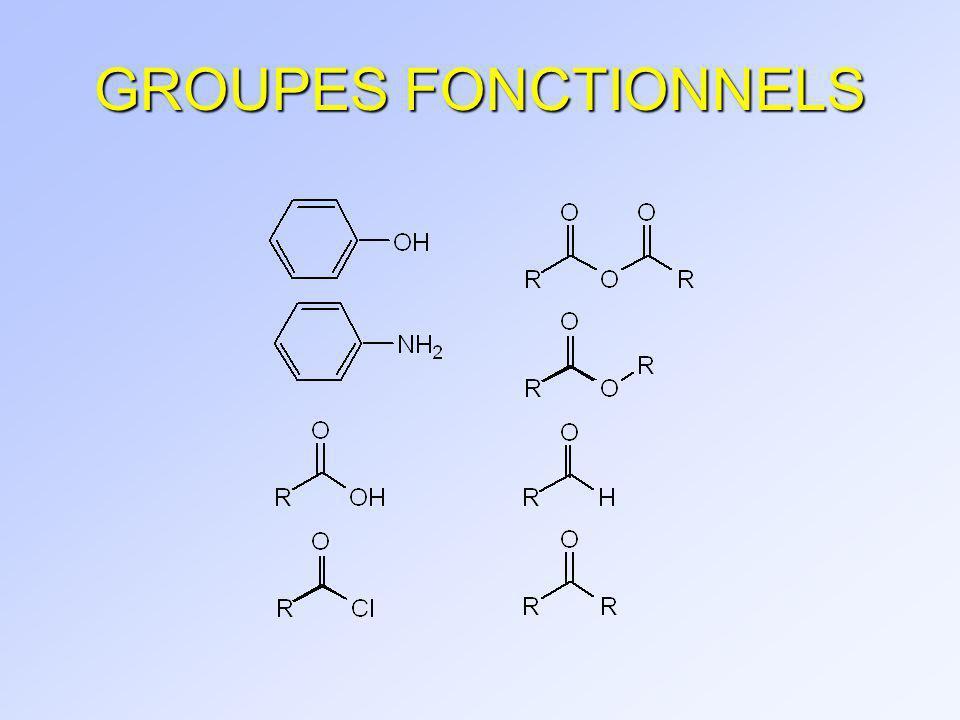 GROUPES FONCTIONNELS